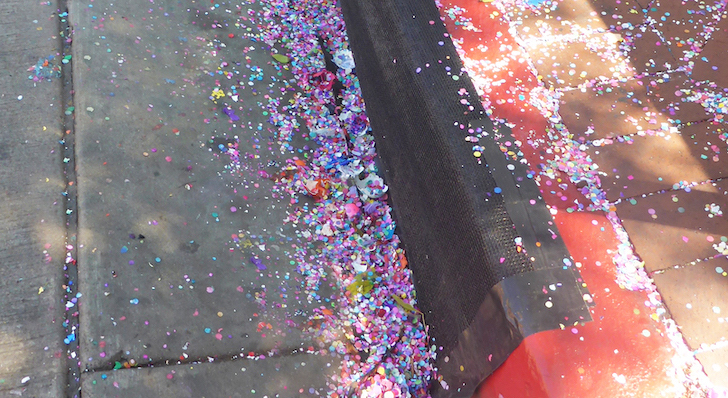 Confetti is Litter title=