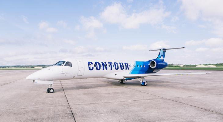 SBA Celebrates Inaugural Contour Airlines Service title=