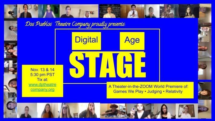 DIGITAL AGE STAGE: Dos Pueblos Theatre Company Presents 3 Virtual World Premieres!  title=