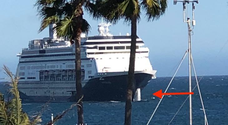 Cruise Ship Dumping?