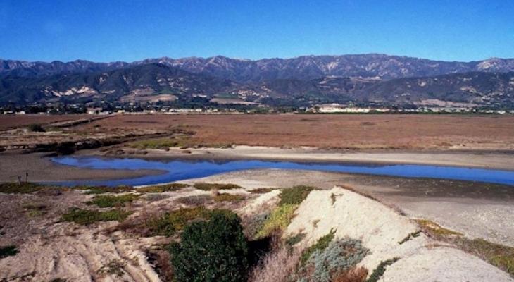 History of Erosion at Carpinteria Salt Marsh