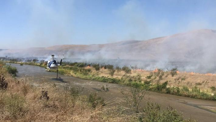 Santa Maria Brush Fire Contained at 48 Acres