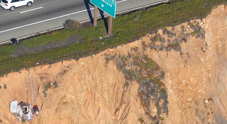 Narrowing Highway 101?