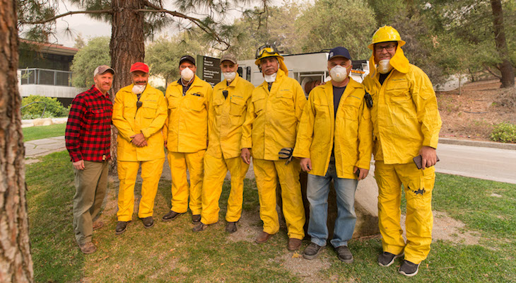 Westmont Fire Brigade Activated for Thomas Fire title=