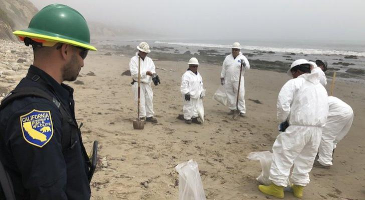 Haskell's Beach Oil Spill Cleanup Completed