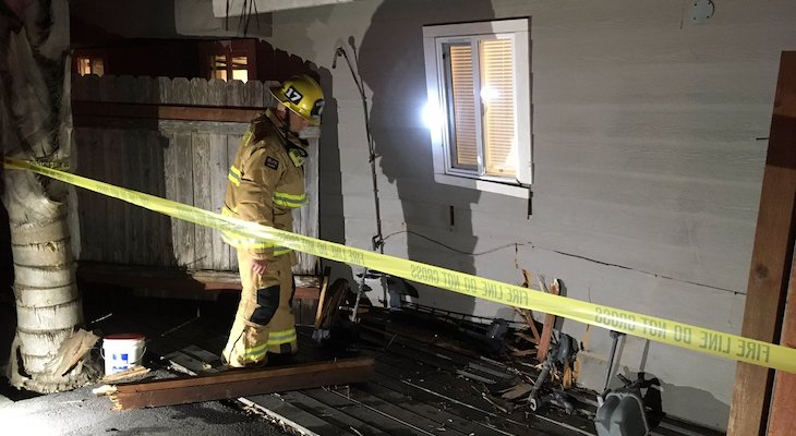 Driver Arrested After Crashing into Isla Vista Home title=