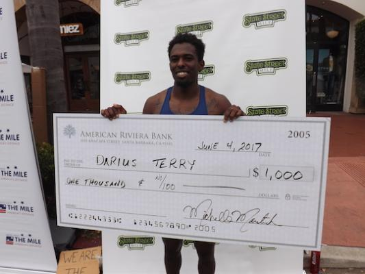 Terry Wins Mens Title at 18th Annual State Street Mile