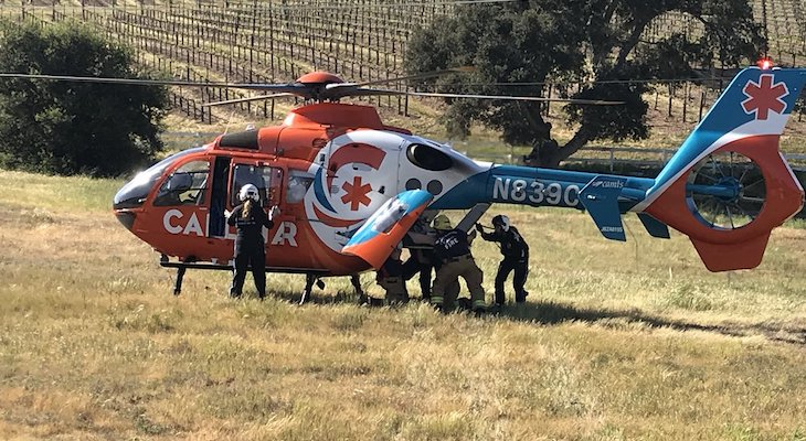 ATV Driver Sustained Major Injuries in Solvang