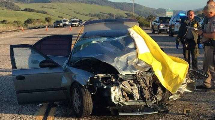 One Dead in Head-On Collision on Highway 1