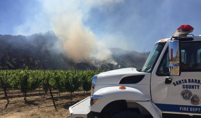 Santa Maria Brush Fire Containment Expected
