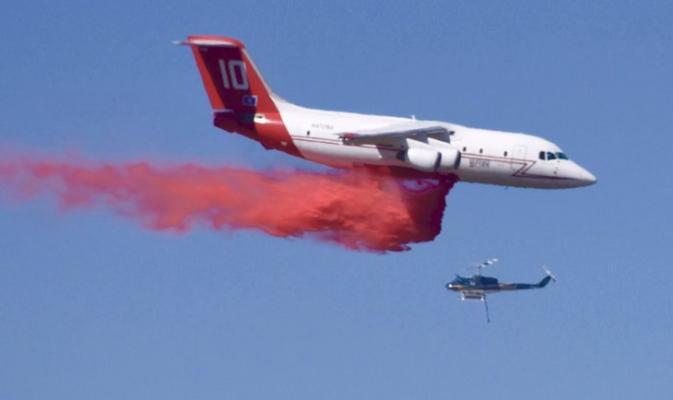 Santa Maria Brush Fire Containment Expected