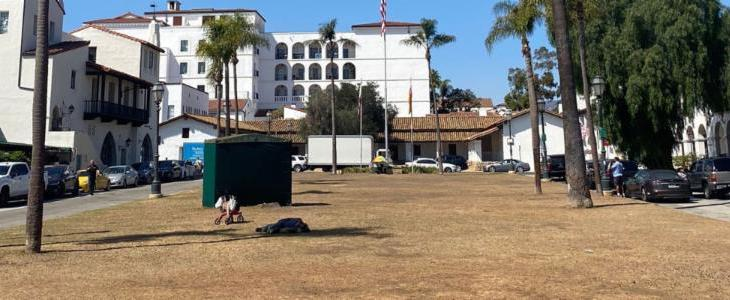 Provide Input on the Future of De La Guerra Plaza