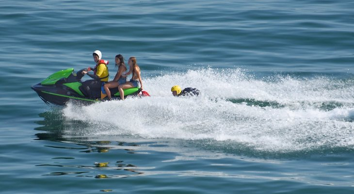 Teens Rescued off Haskell's Beach title=