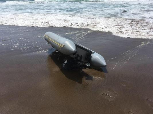 Unmanned Dinghy Found near Montaña de Oro title=