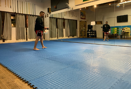 Santa Barbara Martial Arts Academy Consults Scientist to Ensure Clean Reopening