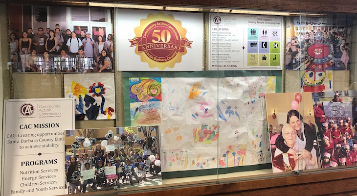 FREE DISPLAY SPACE FOR LOCAL NONPROFITS at Central Library