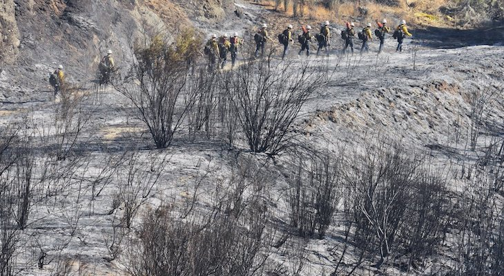 Front Fire is 98% Contained at 1,014 Acres