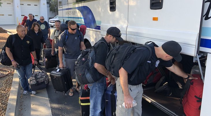 Local Emergency Team Heads to Virginia to Help with Hurricane Florence title=