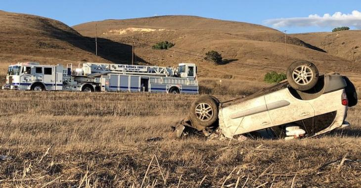 Vehicle Pursued by CHP Causes Injuries on Highway 101 title=