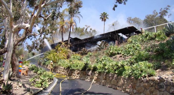 Photos courtesy of the Santa Barbara City Fire Department