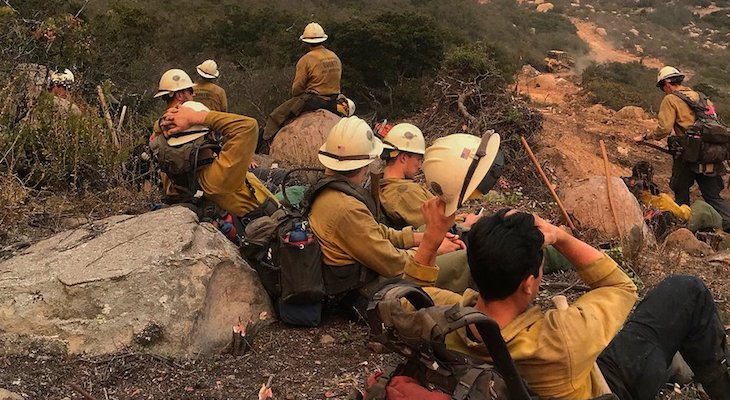 Firefighter Dies While Working Thomas Fire