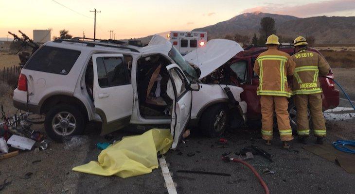 Triple Fatal Head-On Collision on SR-166