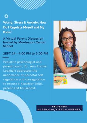 Montessori Center School Hosts Free Parent Webinar with Dr. Ann-Louise Lockhart title=