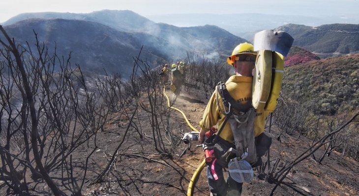 Thomas Fire Now 100% Contained