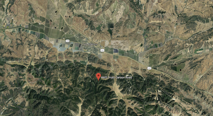 Brush Fire in Los Alamos