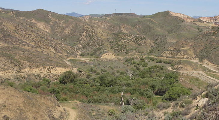 Los Padres National Forest Closes Dry Canyon
