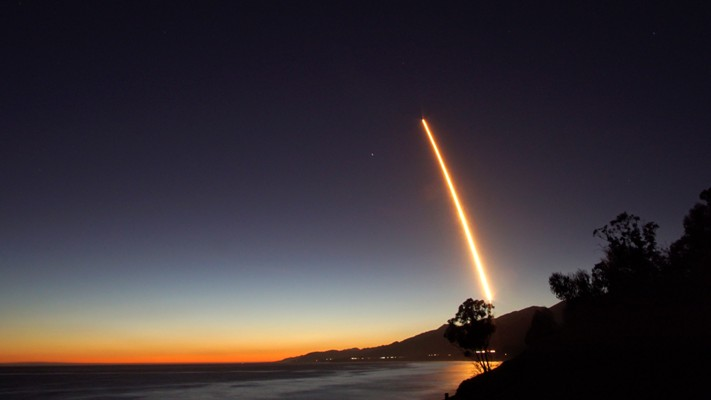 SpaceX Launch Seen in Local Skies