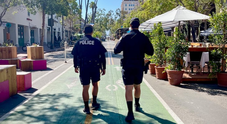 Additional Officers Assigned to Downtown & Promenade title=