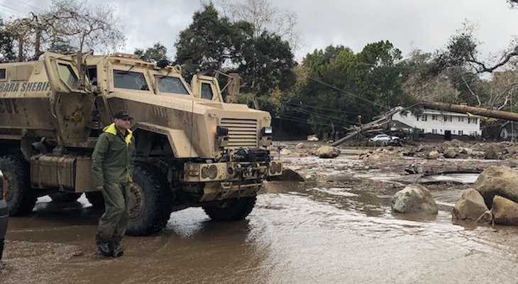 Evacuations lifted, but threat of more mudslides continue