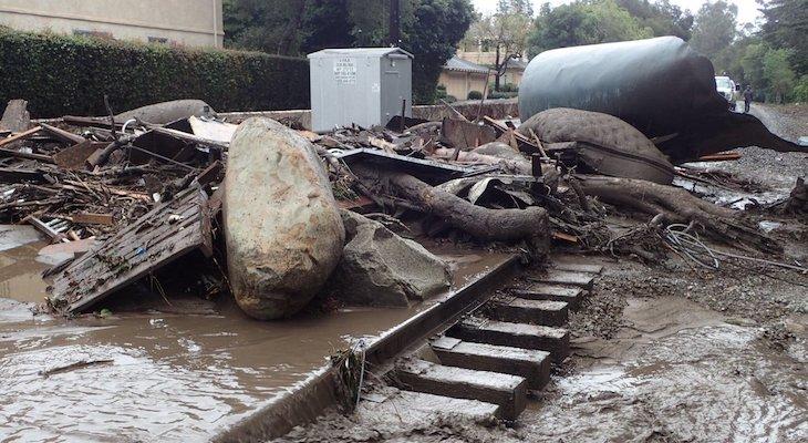 Montecito Mudslide Photos