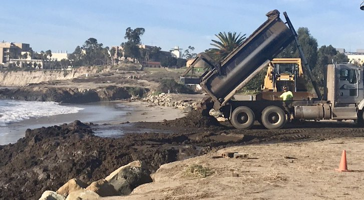 County Responds to Dumping on Local Beaches title=