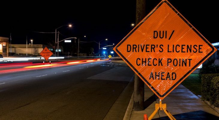 DUI Checkpoint Planned Friday title=