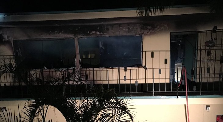 Two Families Displaced in Goleta Apartment Fire
