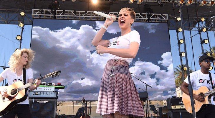 Katy Perry Headlines Montecito Fundraiser