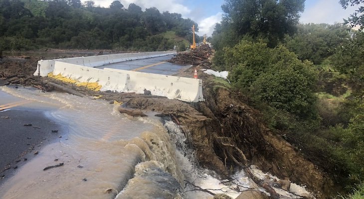 Unclear When Highway 154 Will Reopen