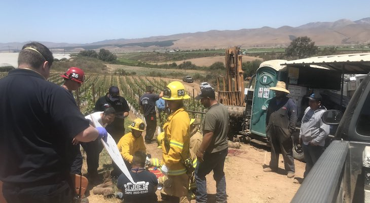 One Injured in Tractor Accident