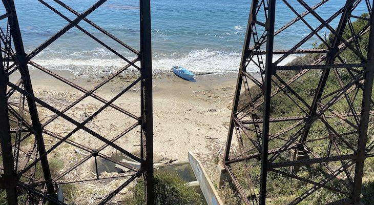 Suspects Detained Near Panga Boat Landing at Arroyo Hondo Beach title=