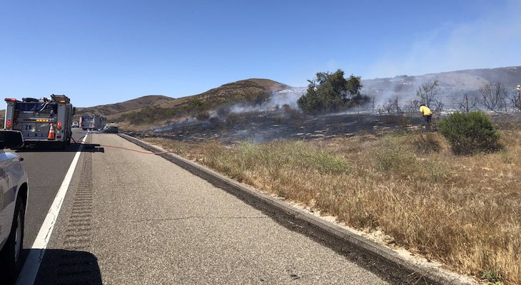 Los Alamos Brush Fire Stopped at Two Acres