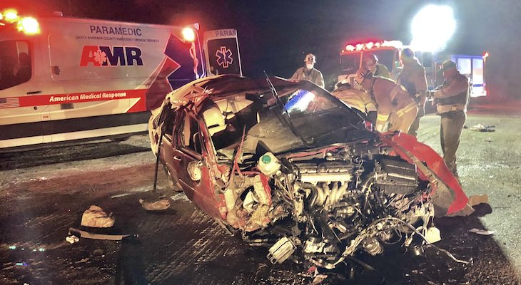 Man Injured in Orcutt Vehicle Rollover