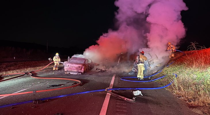 Identities Revealed in Two Fatal Highway 101 Collisions