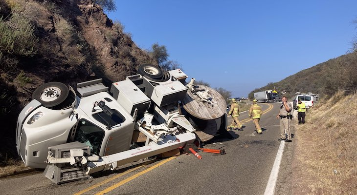Highway 154 Reopens Following Traffic Collision