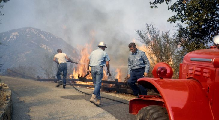 Coyote Fire Sparked 57 Years Ago