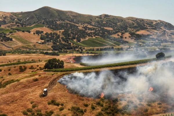Drum Canyon Fire Now 100% Contained