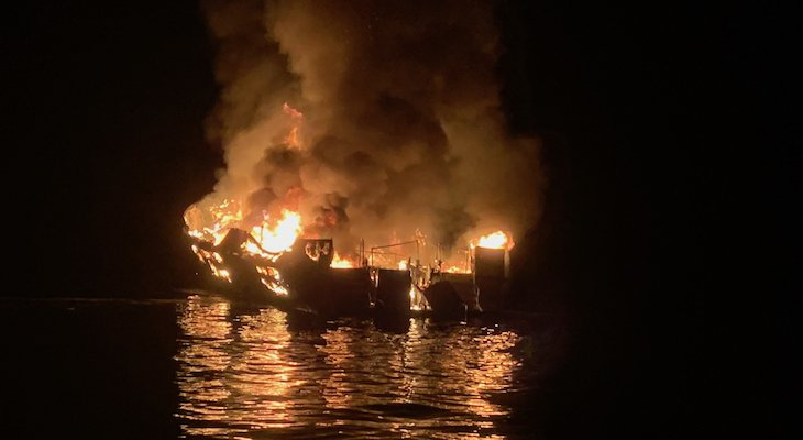 NTSB Releases Preliminary Report on Conception Dive Boat Fire title=