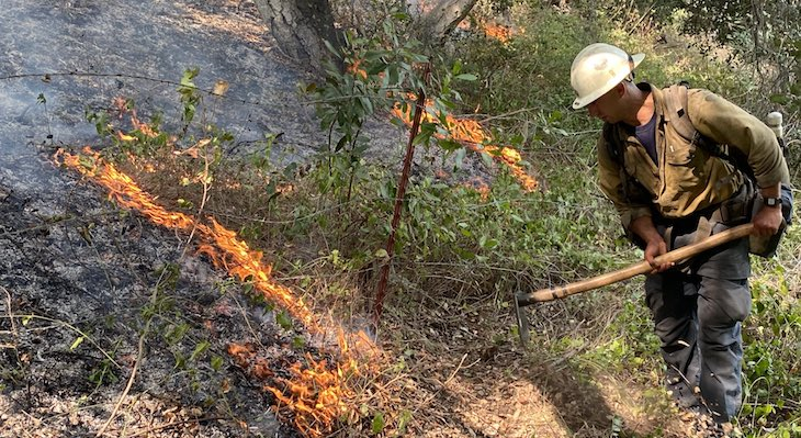 Miguelito Fire Caused by Target Shooting