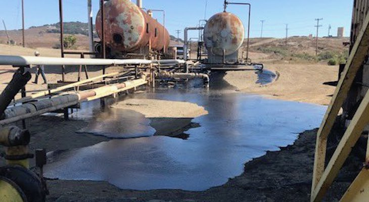 Up to 10 Barrels of Crude Oil Spilled in Santa Maria Valley title=
